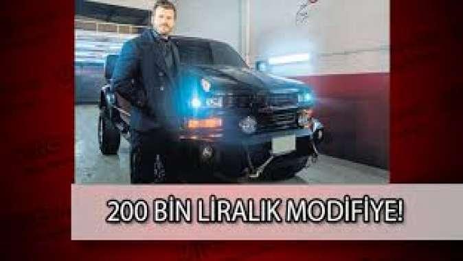 200 bin TL'lik modifiye