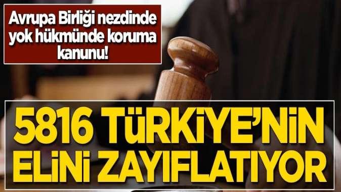 5816 Türkiye'nin elini zayıflatıyor