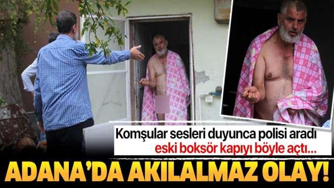 Adana'da akılalmaz olay! Kahvaltıyı beğenmeyince annesini rehin aldı, anadan doğma....