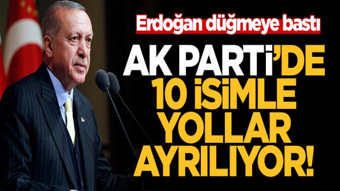 AK Parti'de seçim sonrası on isimle yola devam edilmeme kararı alındı