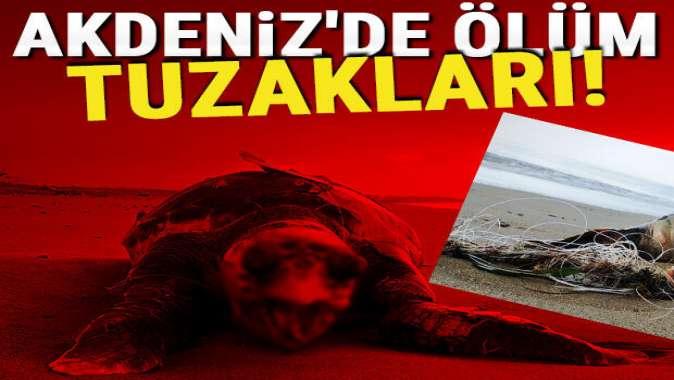Akdeniz'de ölüm tuzakları!