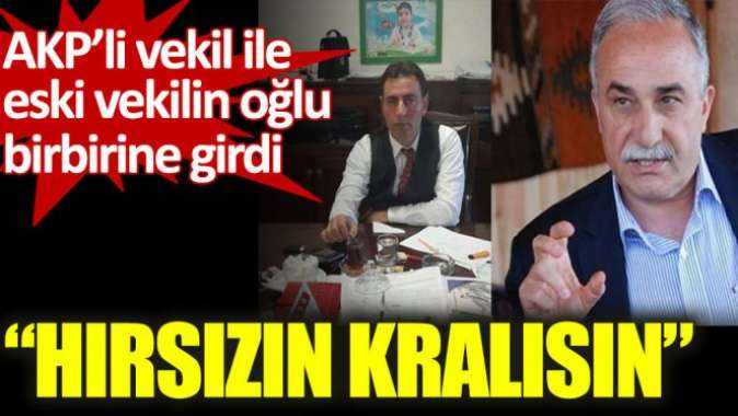 AKP'li Eşref Fakıbaba, AKP'li eski vekilin oğluyla sosyal medyada birbirine girdi
