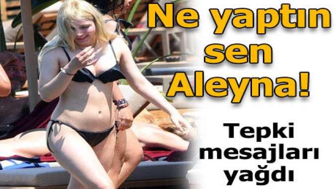 Aleyna Tilki sözünü unuttu!