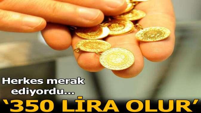 Altın sınırlarını zorluyor!