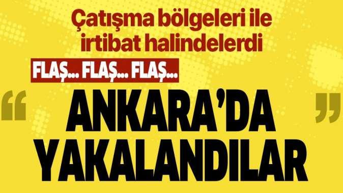Ankara'da DEAŞ operasyonu! Irak uyruklu 19 şüpheliden 16'sı gözaltına alındı