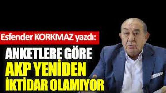 Anketlere göre AKP yeniden iktidar olamıyor