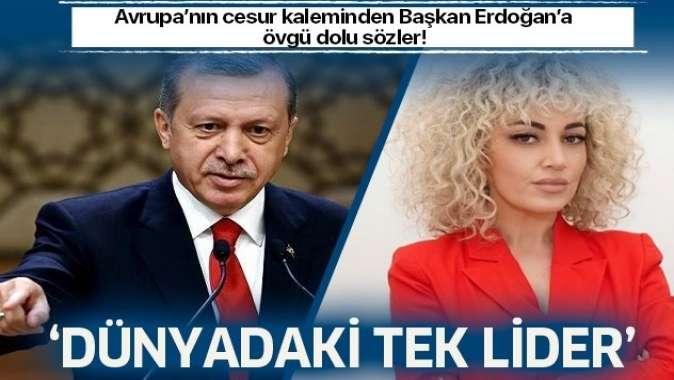 Arnavut gazeteci Bahiti'den Başkan Erdoğan'a büyük övgü: 'Dünyadaki tek lider'
