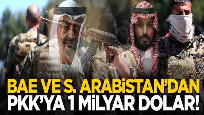 BAE ve S. Arabistandan PKK'ya 1 milyar dolar!