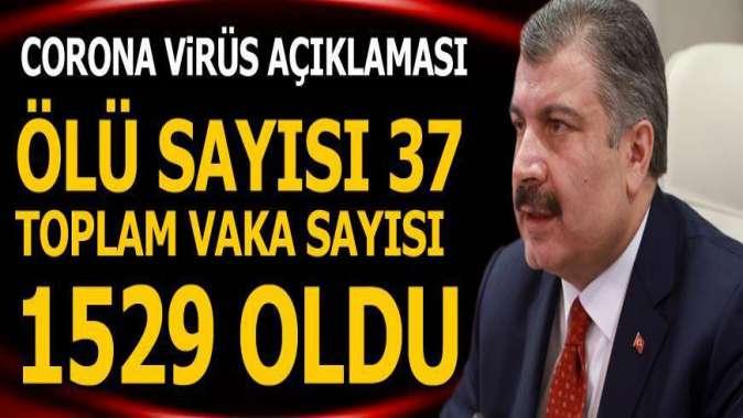 Bakan Koca: Koronavirüs Türkiye geneline yayıldı