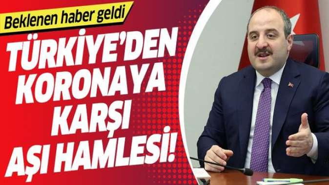 Bakan Varank'tan COVID-19 Türkiye Platformu'nda koronavirüse karşı aşı müjdesi.