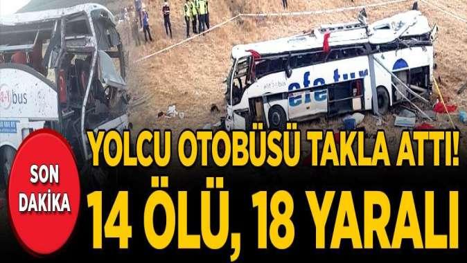 Balıkesir'de yolcu otobüsü devrildi: Çok sayıda ölü ve yaralı var