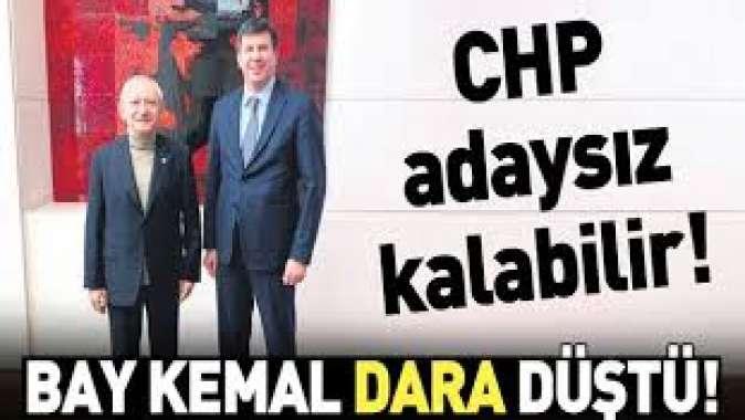 Bay Kemal dara düştü! CHP Kadıköyde adaysız kalabilir....