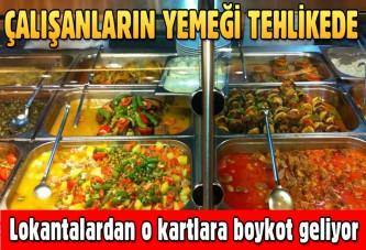 Çalışanların yemeği tehlikede! Restoranlardan yemek kartlarına boykot kararı