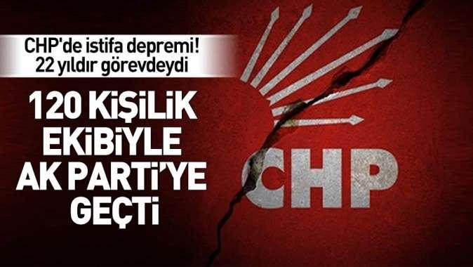 CHPde istifa depremi! Mehmet Uğur ve 120 kişi AK Partiye geçti.