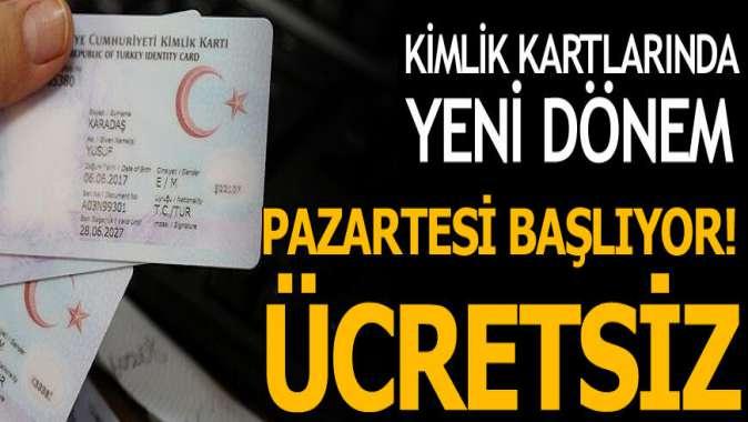 Çipli kimlik kartlarında yeni dönem başlıyor! İçişleri Bakanı Soylu açıkladı