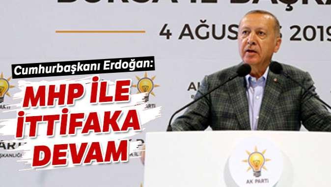 Cumhurbaşkanı Erdoğan: Birlikte yeni reformlara imza atacağız