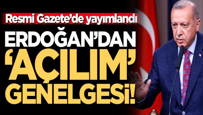 Cumhurbaşkanı Erdoğandan Roman açılımı genelgesi: Her türlü destek ve yardım sağlanacak