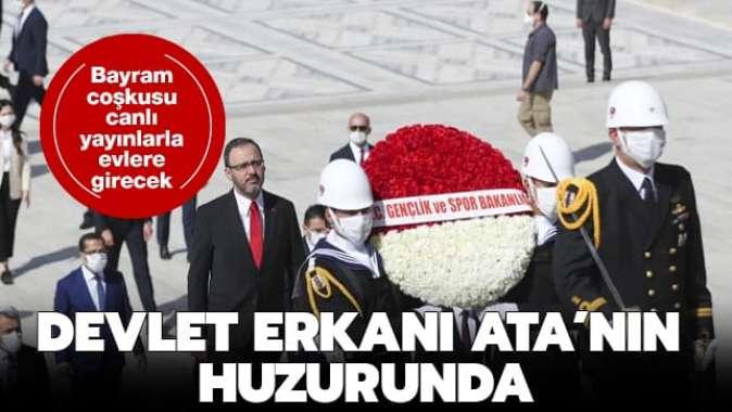 Devlet erkanı Atanın huzurunda! İlk ziyareti Kasapoğlu gerçekleştirdi