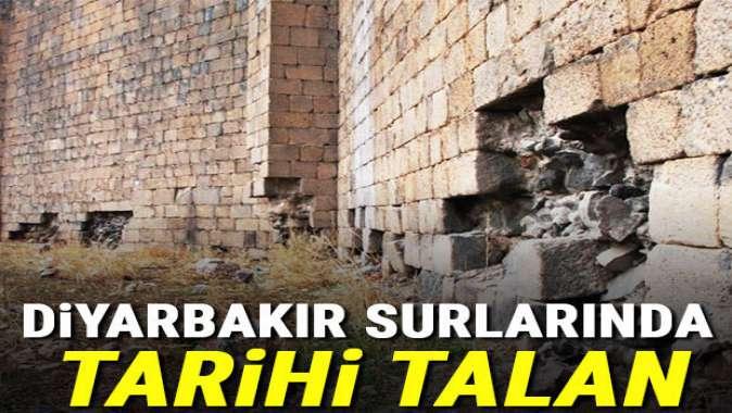 Diyarbakır Surları'nda... Tarihi talan