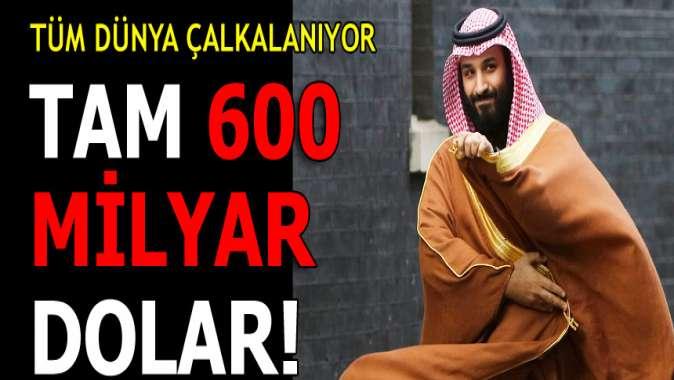Dünya kilitlendi! FT: S.Arabistan'ın 600 milyar doları tehlikede