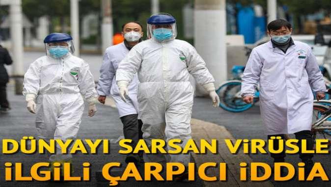 Dünyayı sarsan virüsle ilgili çarpıcı iddia: Başardık