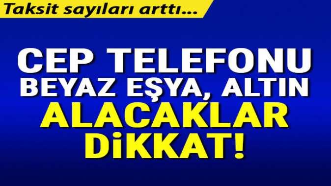 Elektronik ve beyaz eşyada taksit sayıları arttı! Karar Resmi Gazete'de yayımlandı