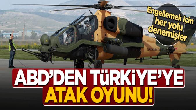 Engellemek için her yola başvurmuşlar... ABDden Türkiyeye ATAK oyunu!