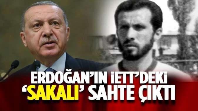 Erdoğan İETTde meğer sakalı için değil özelden gitmiş
