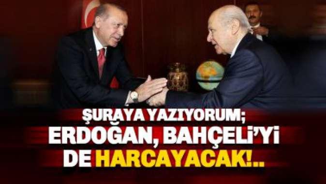 Erdoğan ve Devlet Bahçeli'nin yolları ayrılıyor mu!