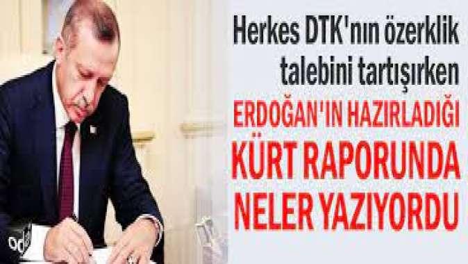 Erdoğan'a verilen o raporda ne yazıyordu