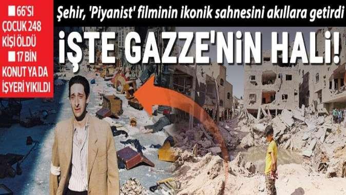 Gazze enkaza uyandı
