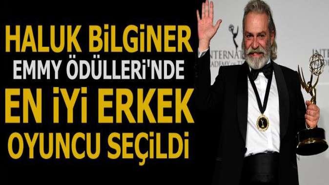 Haluk Bilginer 47. Uluslararası Emmy Ödülleri'nde en iyi erkek oyuncu seçildi