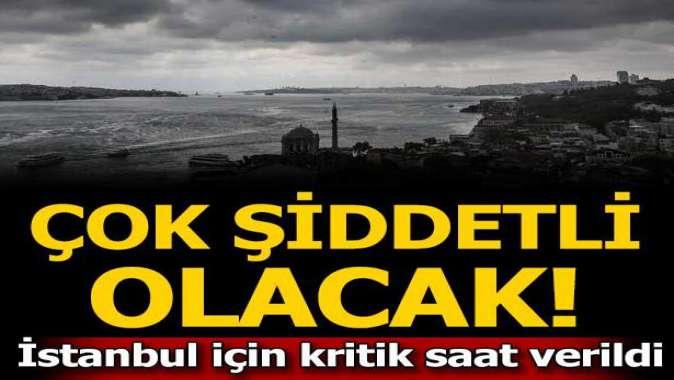 Hava durumu tahminleri! İstanbulda bugün yağış var