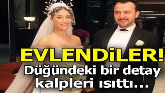Hazal Kaya ile Ali Atay evlendi! Düğündeki bir detay kalpleri ısıttı...