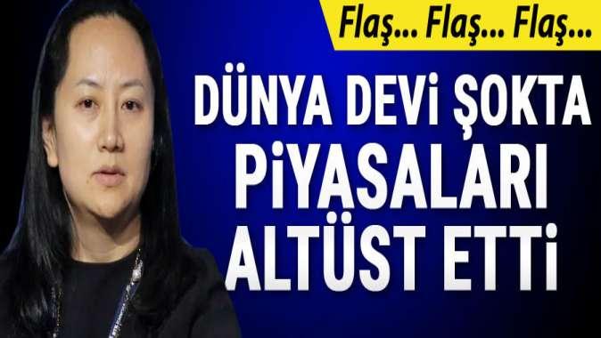 Huaweinin CFOsu tutuklandı