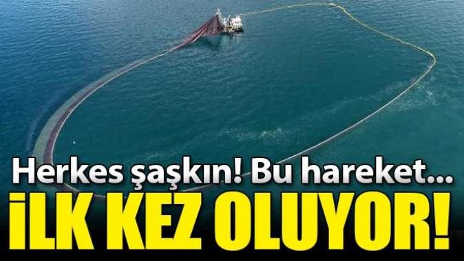 İlk kez oluyor! Balıkçılar şaşkın, tersine hareket...