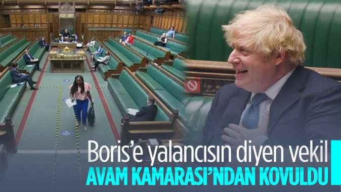 İngilterede Başbakan Johnsona yalancı diyen milletvekili, oturumdan çıkarıldı