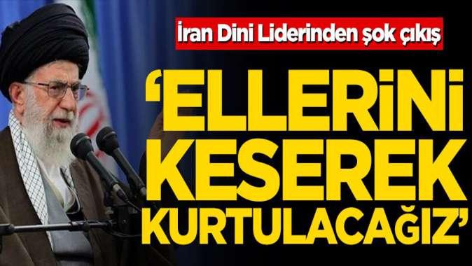 İran Dini Lideri Ayetullah Ali Hamaney'den şok çıkış! 'Virüsten elleri yıkayarak, bunlardan elleri keserek kurtulabilirsiniz'