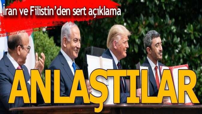 İran ve Filistinden peş peşe açıklamalar! Anlaştılar
