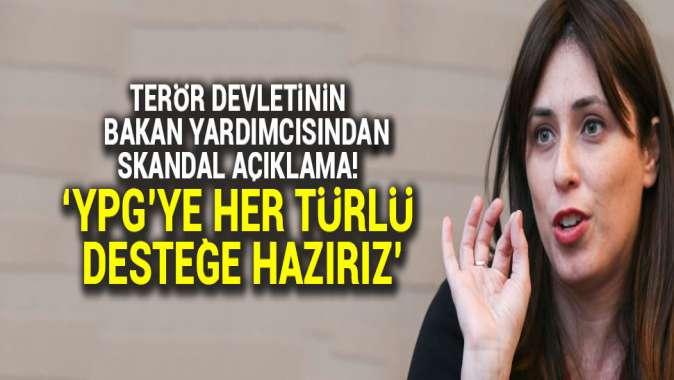 İsrailli bakan yardımcısından skandal açıklama: YPGye her türlü yardıma hazırız