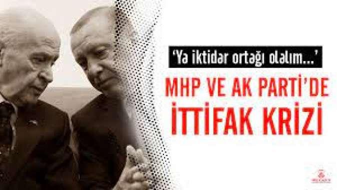 İttifak içi baraj mesaisi: AKP ve MHPde krize neden olan hamle