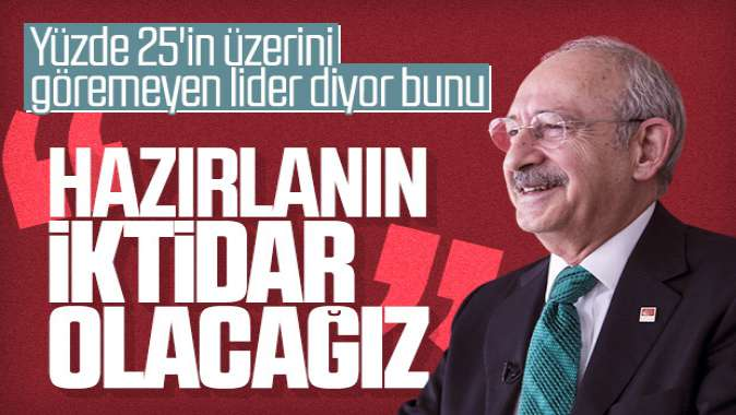 Kılıçdaroğlu'nun hedefi iktidar