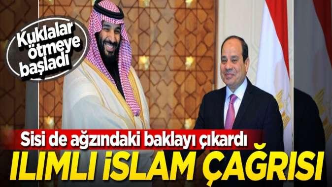 Kuklalar bir bir ötmeye başladı... Sisi'den ılımlı İslam çağrısı!