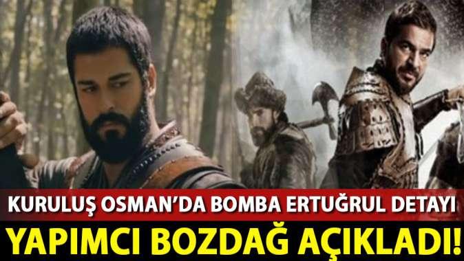 Kuruluş Osmanda bomba Diriliş Ertuğrul detayı!