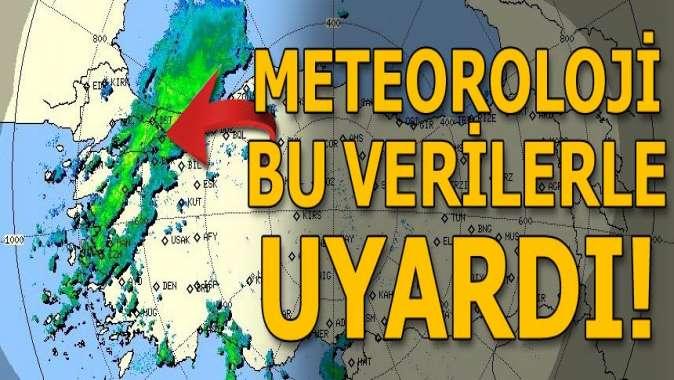 Meteoroloji bu verilerle uyardı! İstanbul ve çevresi dikkat...