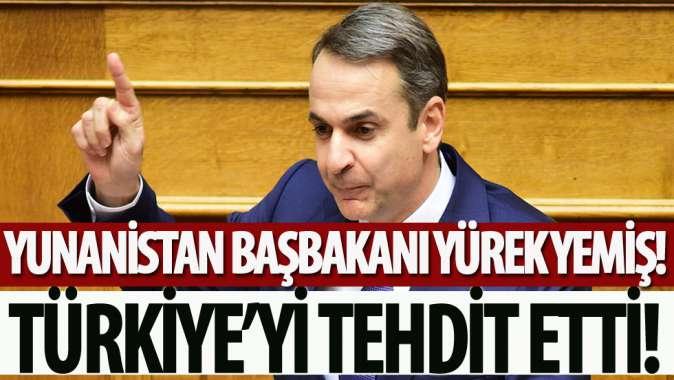 Miçotakis yazdığı makalede Türkiyeyi tehdit etti