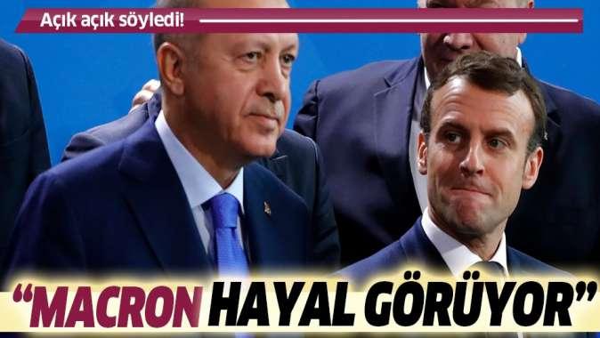 Milli Savunma Bakanı Hulusi Akar: Hayal gören Macron'un kendisi
