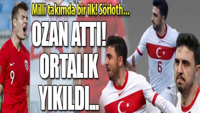 Norveç'e İspanya'da Türk lokumu! Ozan Tufan maça damga vurdu