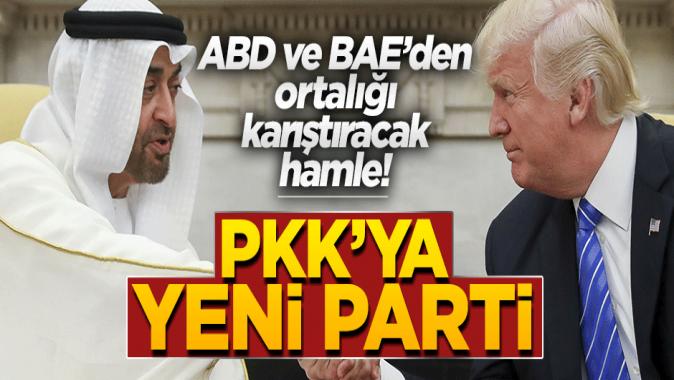 PKK'dan yeni taktik! Parti kurdurdular