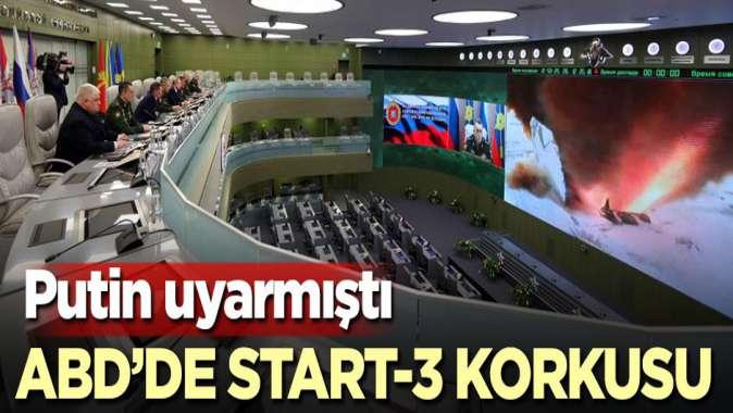 Putin uyarmıştı! ABD'de START-3 korkusu
